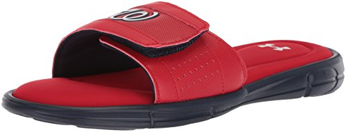 Under Armour Mens Ignite MLB V Slide Red/Midnight Navy/White T5LIHHiAhg