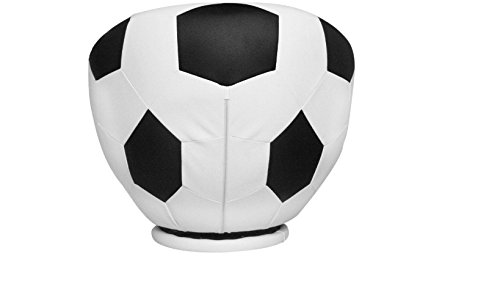 Unique,Durable and Exciting Soccer Ball Kids Swivel Chair, Black/White, Fun Addition to Nursery or Kids Room,Great Gift Idea for Soccer Fans