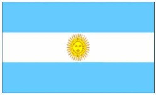 Argentina flag 5'x3' by Klicnow