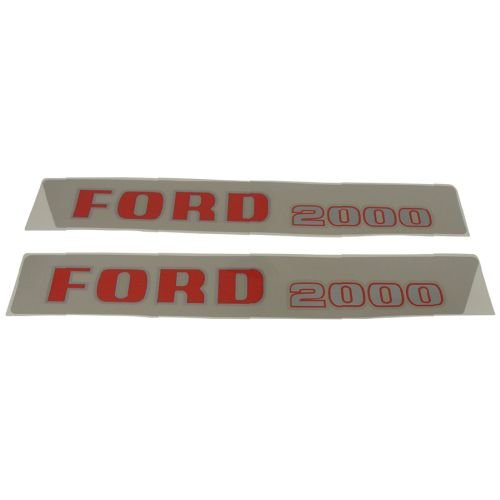 - Complete Tractor 1115-1571 Decal Set for Ford New Holland 2000