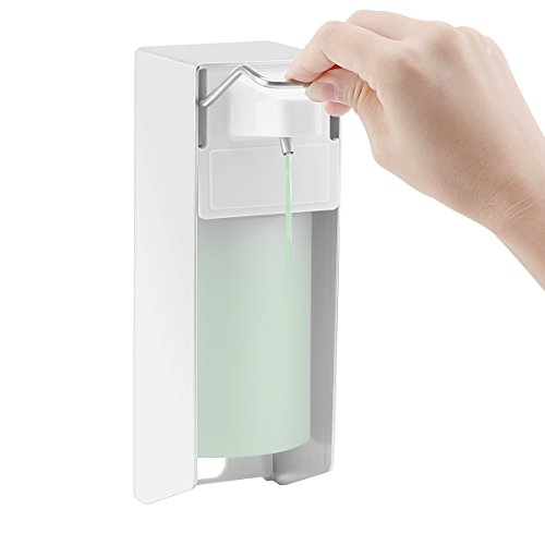Houkiper Dispensador del jabón del fregadero de cocina, bomba del jabón del dispensador del desinfectante de la mano para el hogar y el hotel (500ml Press Type)
