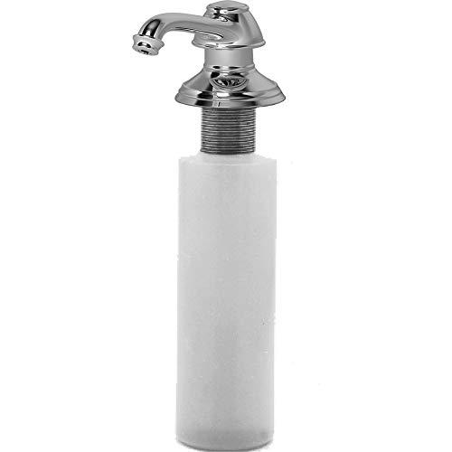 Newport Brass 2470-5721 Jacobean Deck Mounted Soap and Lotion Dispenser, Flat Black