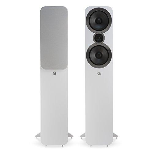 Q Acoustics 3050i Floorstanding Speaker Pair (Arctic White) 2018 Model