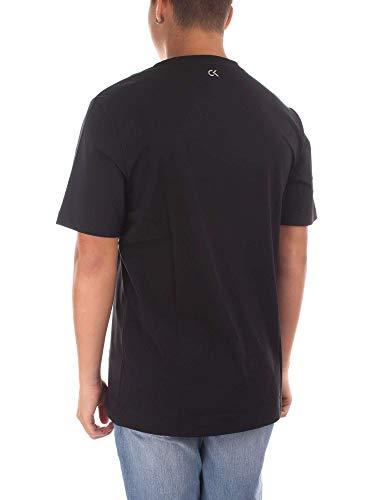 Tee Logo PERFORMANCE T Black Homme CK Shirt 00GMF8K160 qtd1wE