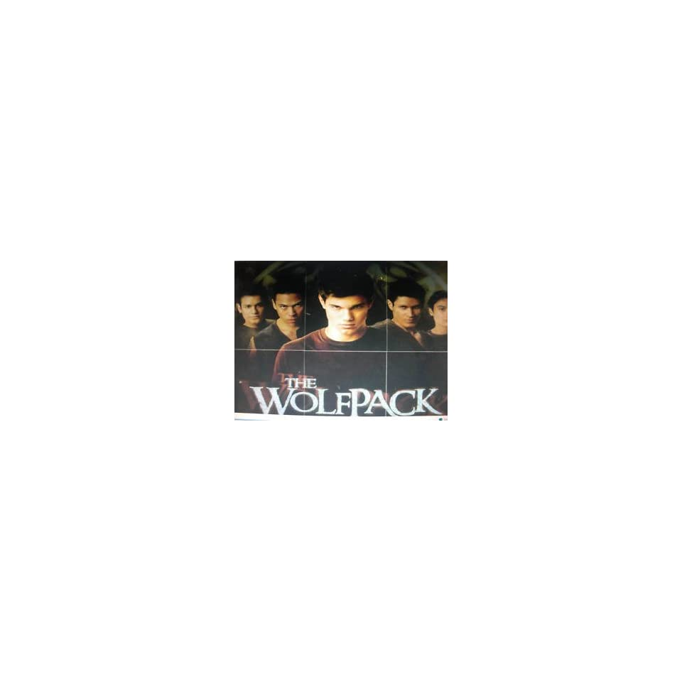 Twilight New Moon Wolf Pack foil insert set of 6 (WP 1 to WP 6)