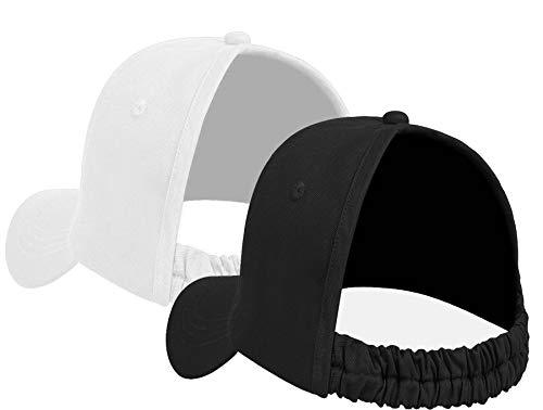 Backless Ponytail Hat Baseball Women Messy Bun Pony Tail Cap