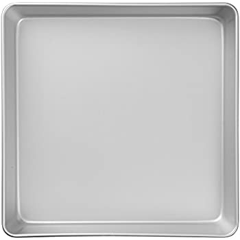 Wilton Performance Pans Aluminum Square Cake and Brownie Pan, 12-Inch