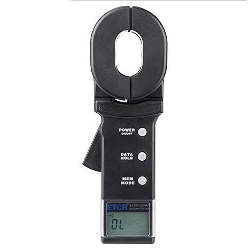 Digital meter- Ground Earth Resistance Meter Tester ,Digital Clamp Meter,with Data Storage Function Alarm System,Resistance Range: 0.01~200Ω ETCR2000A, Amp Ohm Volt Meter: Amazon.co.uk: DIY & Tools