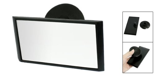 Suction Interior Driving Instructor Car Rear View Mirror Black