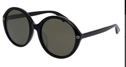 Gucci Havana Black Ladies Sunglasses GG0023SA-006