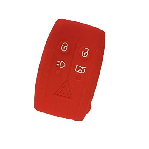 new-protect-red-silicone-5-buttons-remote-smart-key-case-shell-holder-cover-fob-for-jaguar-xf-xk-xkr