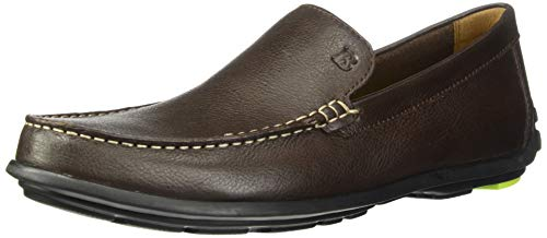 - Bostonian Men's Grafton Driving Style Loafer Dark Brown Leather 110 M US