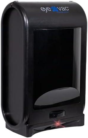 EyeVac Pet -Touchless Stationary Vacuum for Pet Hair, Dust and Debris. Tuxedo Black