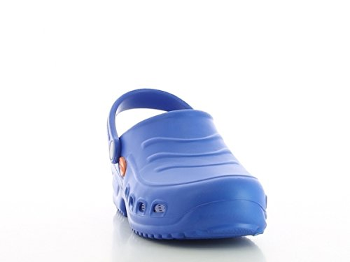 Shoes Antistatic Oxypas Washable vif Bleu Slip Navy 'Gravity' Clog Bleu resistant in Nursing wpXp0qZ