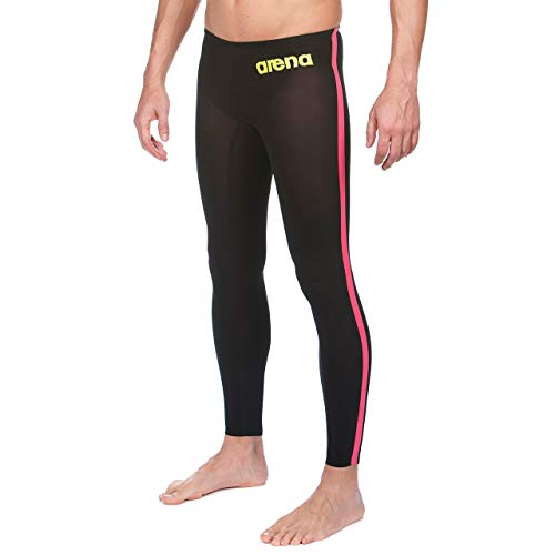 Arena Powerskin R-Evo Open Water Pant, Black/Fluo Yellow, 26 by Arena (Image #6)