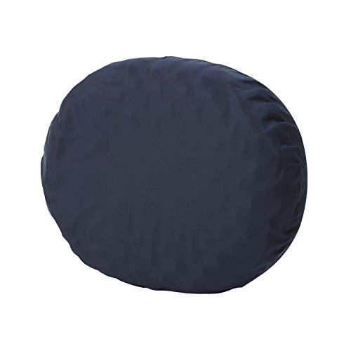 DMI Convoluted Foam Ring Donut Seat Cushion Pillow for Back Pain, Hemorrhoids and After Childbirth, 18 inch, Navy