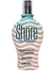 Snooki Shore To Please w/White DHA Bronzers 12z Top Seller