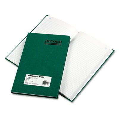 REDIFORM OFFICE PRODUCTS 56521 Emerald Series Account Book, Green Cover, 200 Pages, 9 5/8 x 6 1/4 by Rediform (Image #1)