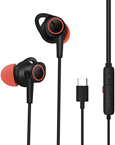 Earbuds Ear Buds in Ear Headphones Wired Earphones with Microphone Mic Stereo and Volume Control Waterproof Wired Earphone MUEY007