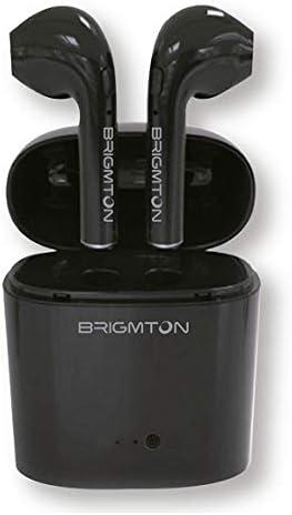 Auriculares BRIGMTON BML-15N Bluetooth Negro Base
