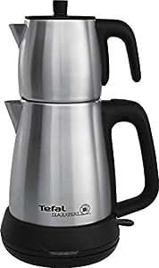 Tefal BJ505 Tea Expert Çelik Demlikli Çay Makinesi, Paslanmaz Çelik