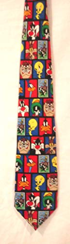 - Looney Tunes Stamp Collection Tie, Daffy Duck Necktie, Tweety Bird Tie, Road Runner Neck Tie, Sylvester Looney Tunes Tie, Taz Tie,
