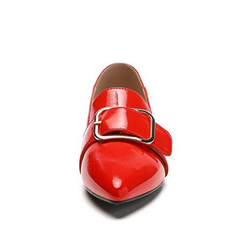 Rosso Sconosciuto MMS06378 EU Red 35 Zeppa Donna 1TO9 con Sandali wfqZAYw
