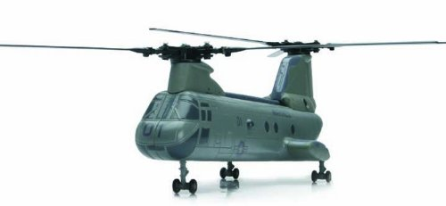 Boeing CH-46 Sea Knight Diecast Marine Chinook Helicopter 1:55 Scale – Model Kit by New Ray