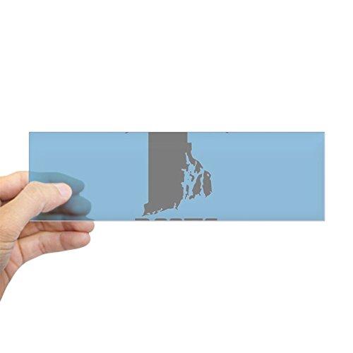 Island Rectangle Magnet (CafePress - Rhode Island Roots Light Blue - 10
