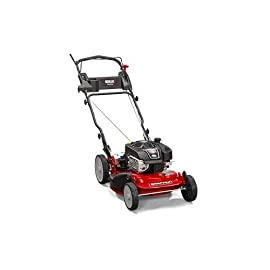 Snapper CRP218520 / 7800968 NINJA 190cc Rear Wheel Drive Variable Speed Commerial Series Lawn Mower with 21-Inch Deck, Ninja Mulching Blade and 7 Position Height-of-Cut 7 Briggs & Stratton 850 professional Series engine features easier starting, smoother and quieter operation, increased durability and spin on oil filter for longer life Rear wheel drive improves walk behind mower traction and the smooth turn differential helps ensure easy maneuverability without damaging your grass Ninja blade features 6 powerful cutting surfaces to finely mulch your grass while the deck design blows them back into the lawn