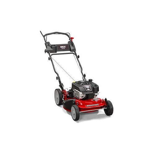 Snapper CRP218520 / 7800968 NINJA 190cc  Rear Wheel Drive Variable Speed Commerial Series Lawn Mower with 21-Inch Deck, Ninja Mulching Blade and 7 Position (Best Snapper Weed Eater Gas Lawn Mowers)