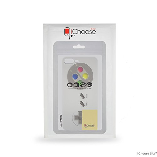 iPhone 7 Plus Controlador de Consola Estuche de Silicona / Cubierta de Gel para Apple iPhone 7 Plus (5.5) / Protector de Pantalla y Paño / iCHOOSE / Gameboy NES