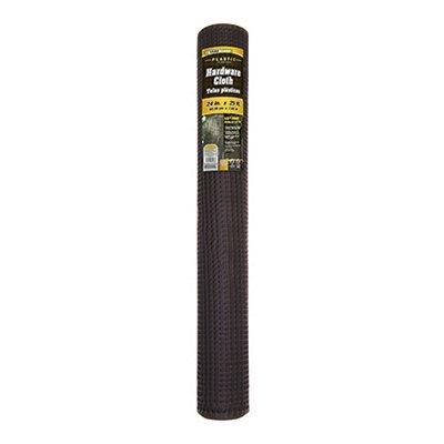 Yardgard 889231a Plastic Hardware Cloth Roll, Black, 1/2