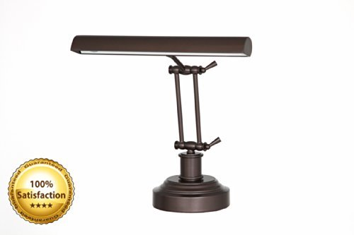 Cocoweb DLED14MB LED Piano/Desk Lamp, Mahogany Bronze