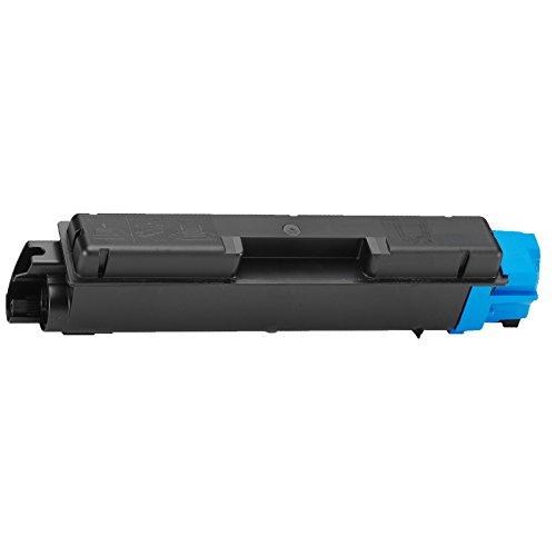 1 Inktoneram® Replacement toner cartridges for Kyocera-Mita TK-592 TK592 C Cyan Toner Cartridge replacement for Kyocera-Mita TK-592C M6026cidn M6526cdn M6526cidn P6026cdn FS-C2026MFP FS-C2126MFP - Cyan Toner Tk592c