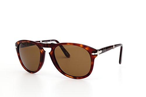0714 24 Mod Sol Gafas Persol de Brown Havana 57 Marrón yXIqpg