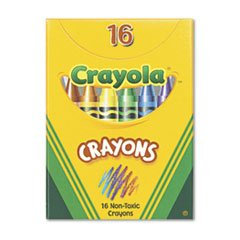Classic Color Crayons in Tuck Box BIN520016 (Vendor Return)