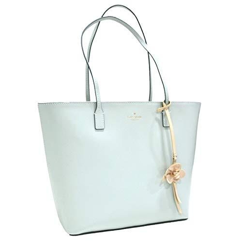 Kate Spade New York Tote Purse Karla Flower Dangle Felicity Street (Misty Mint) ()