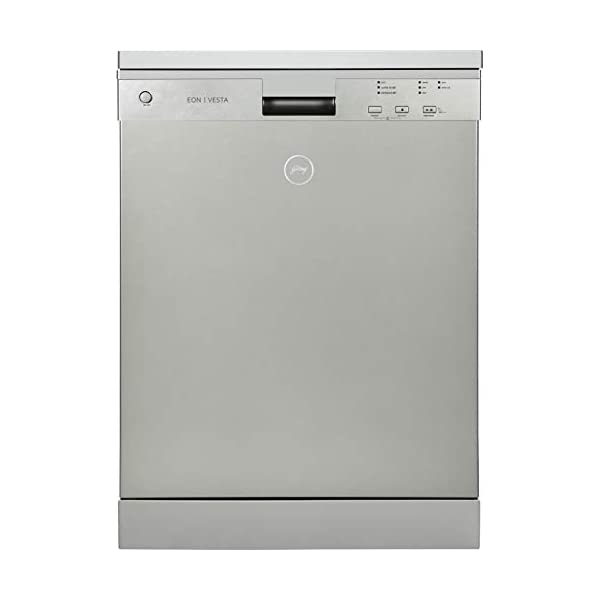 Godrej Eon Dishwasher | 12 place setting | Perfect for Indian Kitchen| Turbo Drying Technology | Intensive 65°C Wash…