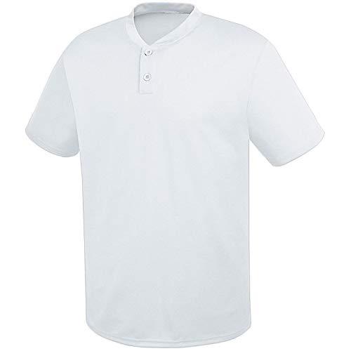 HighFive Adult Two-Button Essortex Jersey White ()