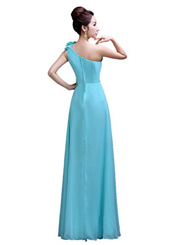 bodenlang lang Brautjungfer Emily Champgane Beauty Shoulder Kleid One wS7xpRq
