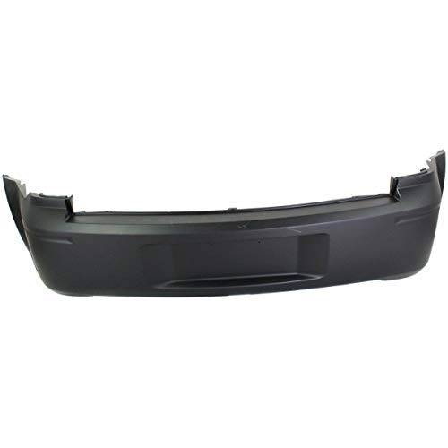 New Rear Bumper Cover For 2006-2008 Dodge Magnum Primed, Without Dual Exhaust Holes, Except SRT-8 Model CH1100410 4805776AC