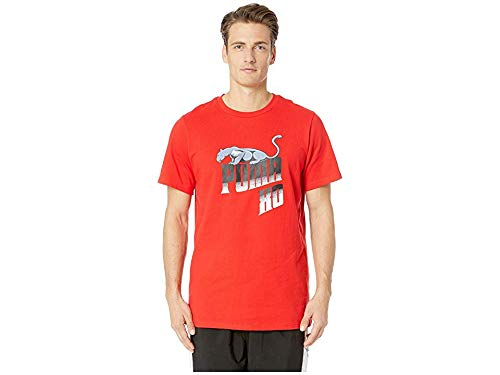 7cc2ba3b5c079 PUMA Men's PUMA x XO Homage to Archive Retro Tee Puma Red Small at ...