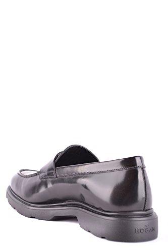 Hogan Men's MCBI148506O Black Leather Loafers 0aqIDAWCv