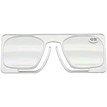 Amazon.com: Nose Clip Reading Glasses Wallet Size Nose