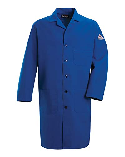 Bulwark FR Men's KNL2 Nomex IIIA 6 oz. Flame Resistant Lab Coat (X-Large) ()