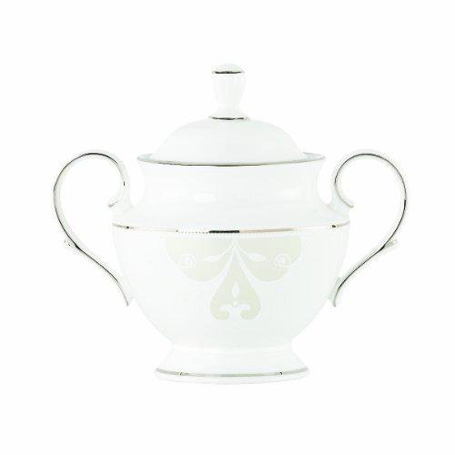 Lenox Opal Innocence Scroll 5-1/4-Inch Sugar Bowl (Bowl Sugar Scroll)