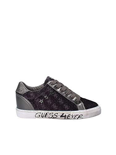 active Ecopelle C0n D19gu49 Guess Sneaker Mod Bassa Col Grigio black Zeppa Scarpe Pressure Donna 7xqzIqnwf8