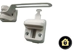 UPVC Door Chain Window Restrictor. Safe T Bar. Extra ...