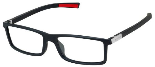 TAG Heuer 0512 Urban 7 Eyeglasses Matte Black 001 (Reading Tag)
